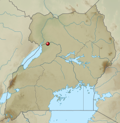 Die Landkarte zeigt die Position des Murchison National Parks