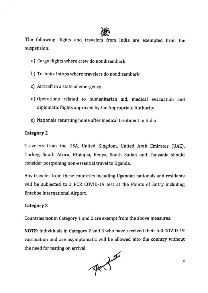Uganda-covid-19-update des Ministry of Health Uganda Seite 4